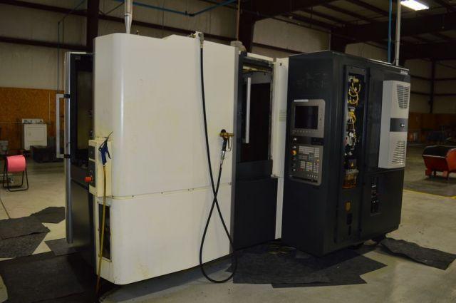 CNC Horizontal Machining Center MORI SEIKI NHX-4000 2013