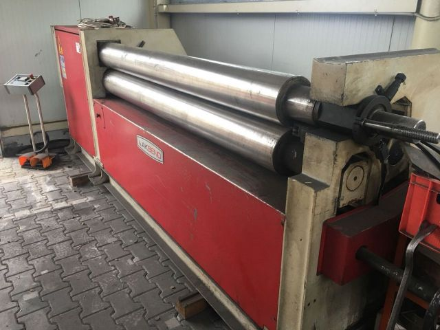 3 Roll Plate Bending Machine Akbend ASM-S200-20.J 2008