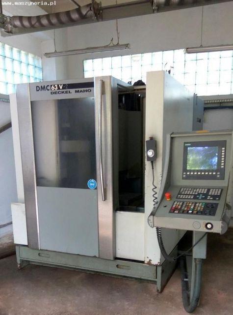 Centrum frezarskie pionowe CNC DECKEL MAHO DMC 63V-2 2001