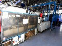 Máquina de moldeo por inyección de plásticos BMB KW 20 PI/1300