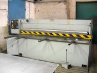 NC Hydraulic Guillotine Shear STROJARNE PIESOK NTC 2500/4