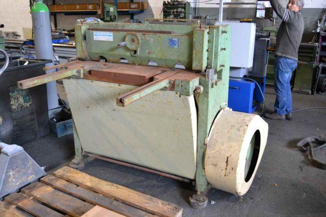 Cizalla guillotina mecánica MP 103 1000x3 1985