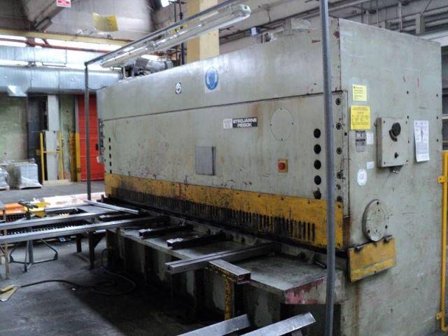 Hydraulic Guillotine Shear STROJARNE PIESOK CNTA 3150/16A 1988