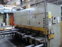 Hydraulic Guillotine Shear STROJARNE PIESOK CNTA 3150/16A