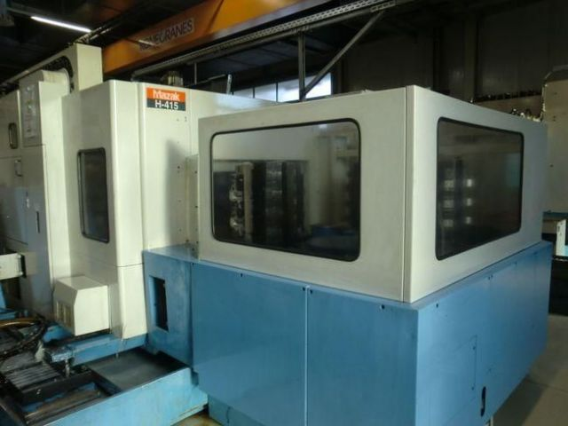 CNC Horizontal Machining Center MAZAK H 415 1997