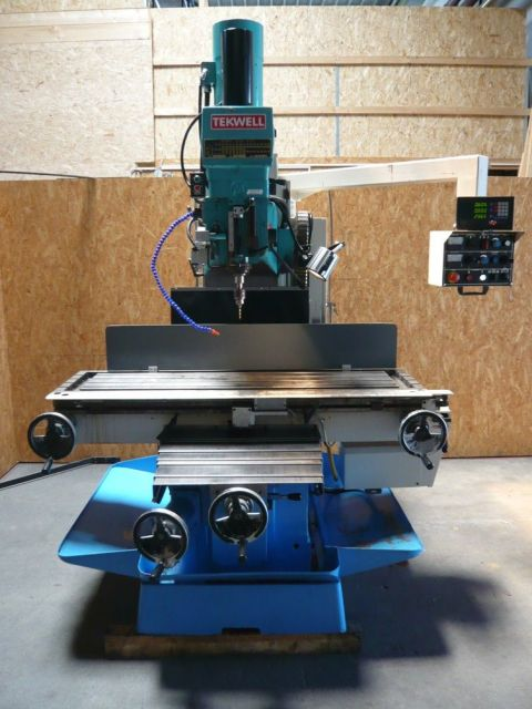 Bed Milling Machine Tekwell Maximart MX-B5S 2002