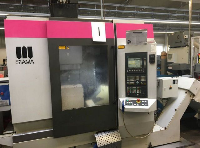 CNC Milling Machine STAMA MC 531 single 1999