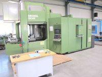 Centrum frezarskie poziome CNC DECKEL MAHO DC 45 - 106 Werkzeuge-neue Elektronik-wie neu
