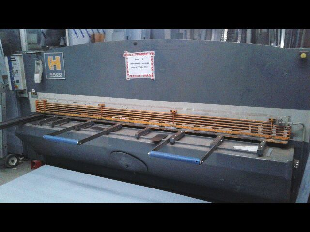 NC хидравлична гилотина срязване HACO TSX 3006 1989