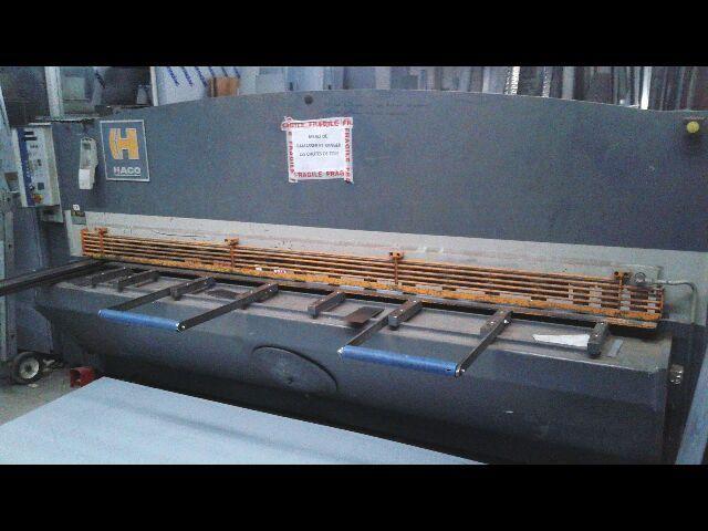 NC Hydraulic Guillotine Shear HACO TSX 3006 1989