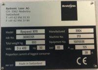 Laserschneide 2D BYSTRONIC Byspeed 3015 - 5.200 watt 2004-Bild 4