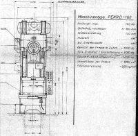Prasa mimośrodowa IWK PEKRD 160 1974-Zdjęcie 4