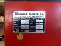 Hydraulic Guillotine Shear AMADA GX 1230 1999-Photo 4