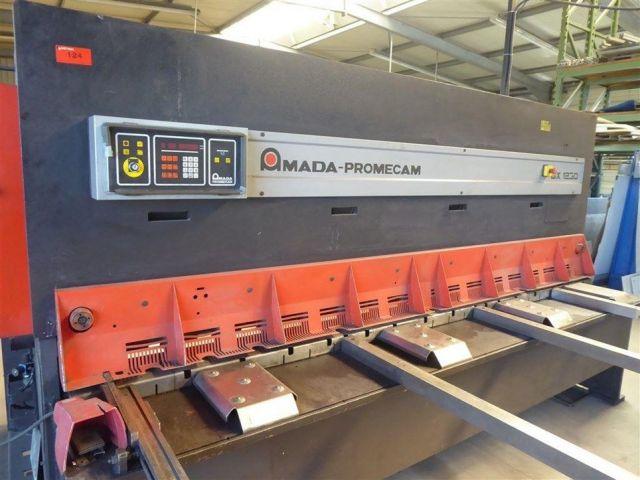Hydraulic Guillotine Shear AMADA GX 1230 1999