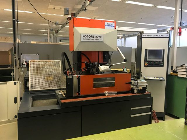 Rolforming linky na profil CHARMILLES Robofil 2020-1 1994