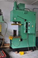 C Frame Hydraulic Press VEB ZEULENRODA ERFURT PYE 63 SS 1990-Photo 4