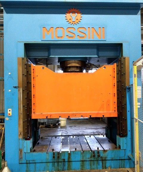 H Frame Press MOSSINI PO/2M 400 2006