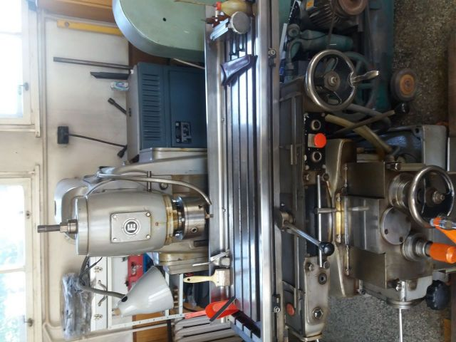 Horizontal Milling Machine Българска ZRMM Vratza 1989