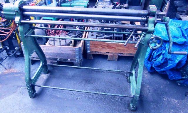 3 Roll Plate Bending Machine KRAMER R 45 / 1000 1981