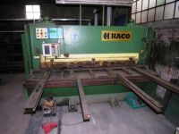 NC Hydraulic Guillotine Shear HACO PS 2010