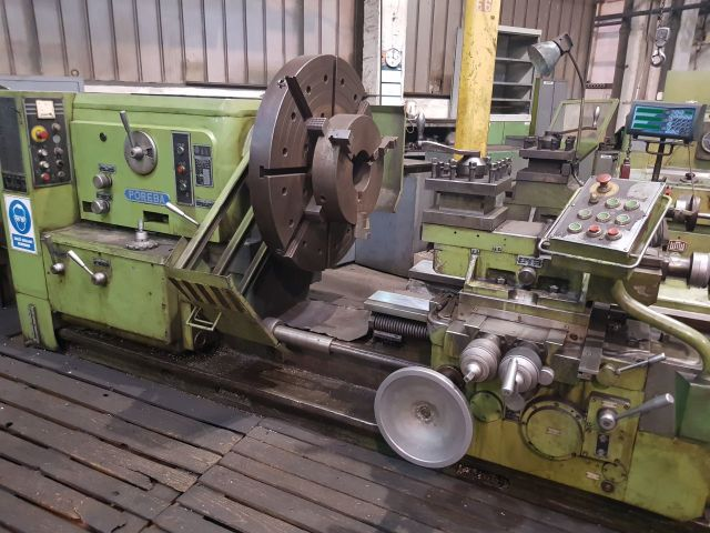 Facing Lathe Poręba TRC 100 1986