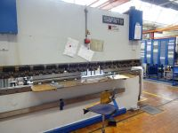 Horizontale hydraulische pers Safan CNCS 110 - 3100 1989-Foto 4