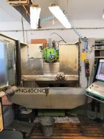 Werkzeugfräsmaschine INTOS NG 40 CNC