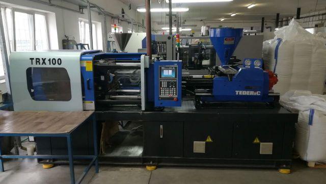 Plastics Injection Molding Machine TEDERIC TRX 100 2009