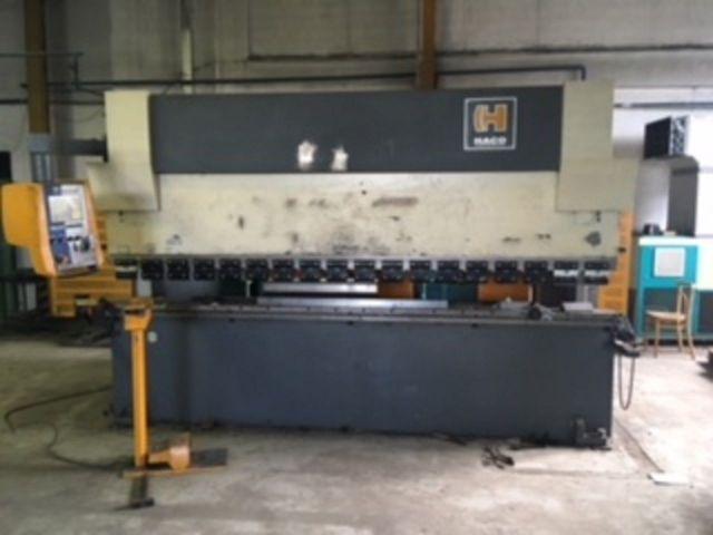 CNC Hydraulic Press Brake HACO ERM 36150 2001