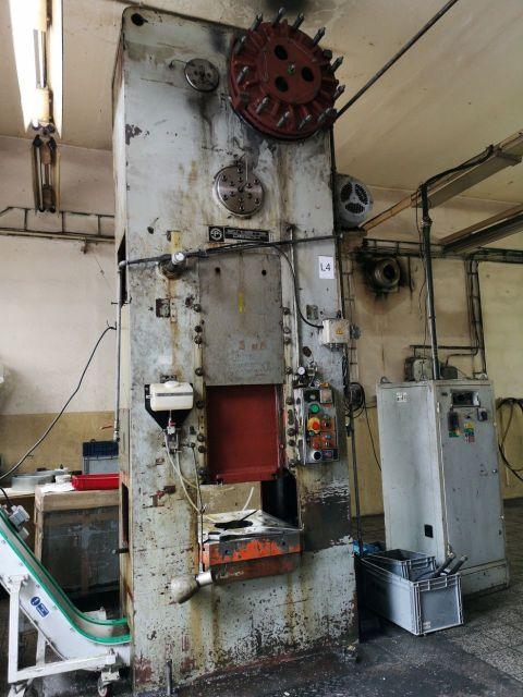 H Frame Hydraulic Press PIESOK LU 160 1982