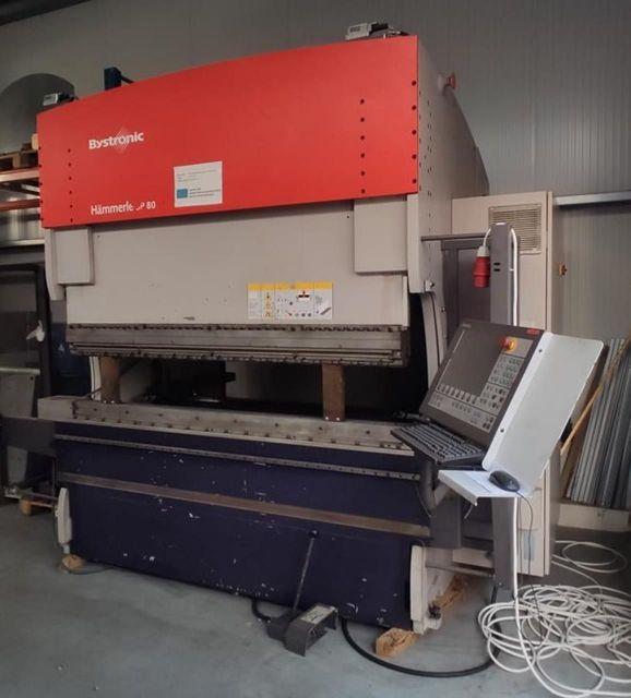 CNC Hydraulic Press Brake BYSTRONIC Hämmerle 3P 80/210 2010