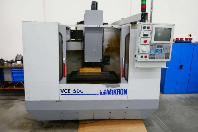 CNC Vertical Machining Center HAAS VCE 500 1995