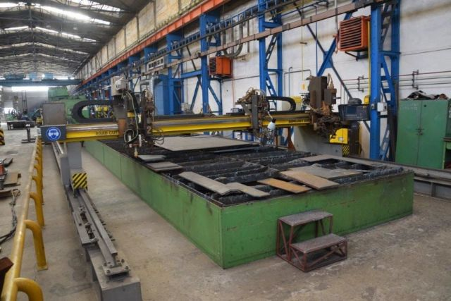 Gas Cutting Machine ESAB SUPRAREX SXE P3 5500 2001