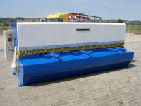 NC hydraulické gilotíny v šmyku WEINBRENNER TSK 4/4100