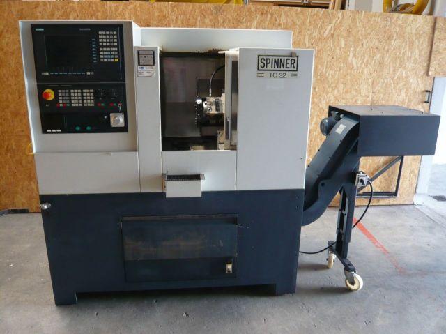CNC Lathe SPINNER TC32 2001