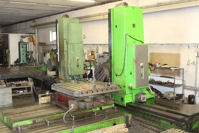 Horizontal Boring Machine TOS HP 100 1972