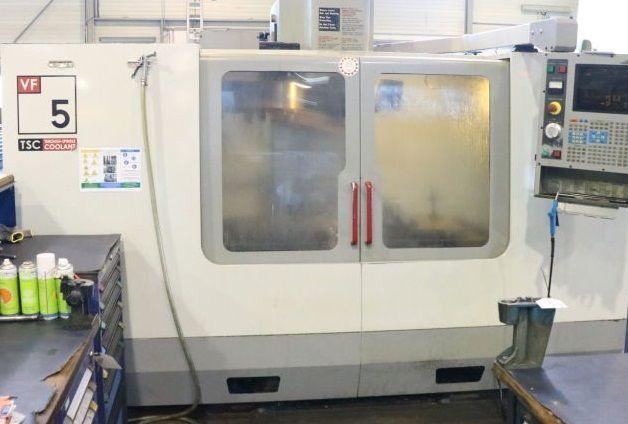 CNC Vertical Machining Center HAAS VF-5 B/40 HE 2003