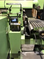 Horizontal Milling Machine KUNZMANN UF 8/3 CNC 1989-Photo 7