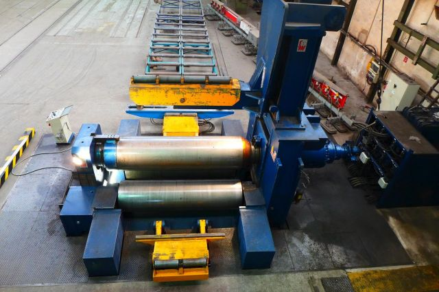3 Roll Plate Bending Machine FACCIN HAV 3190 2006