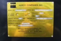 CNC de prelucrare vertical HURCO VMX 50 S 2002-Fotografie 5