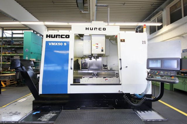 CNC centro de usinagem vertical HURCO VMX 50 S 2002