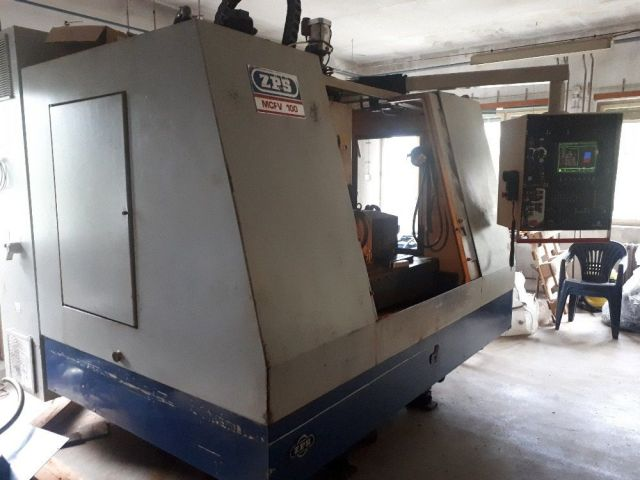 Turning and Milling Center ZPS MCFV 100 1997