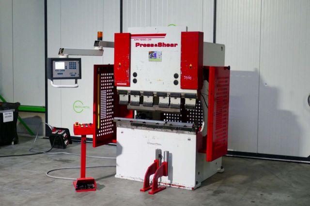 CNC hydraulický ohraňovací lis BAYKAL APH 1200 2005