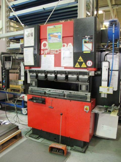 Prasa krawędziowa hydrauliczna CNC AMADA HF 50-12 T 2007
