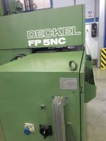 CNC freesmachine DECKEL FP 5 NC 1986-Foto 4