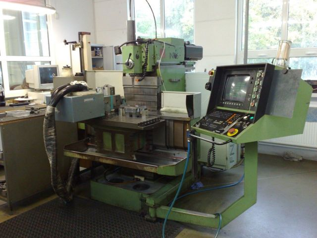 Toolroom Milling Machine INTOS FNG 40 CNC 1997