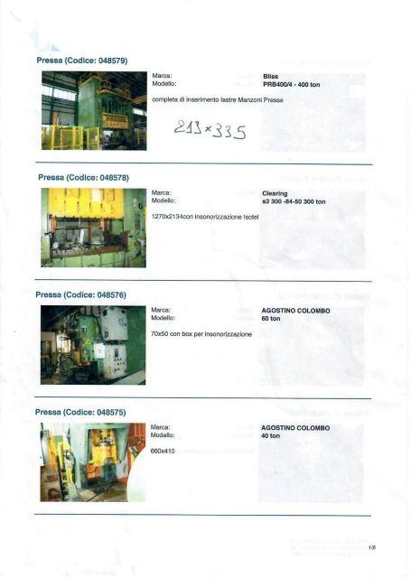 Пресс с Н-образной рамой SPIERTZ stock presse 1990