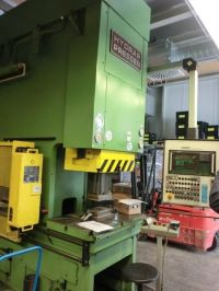 C Frame Hydraulic Press HYDRAP HPSZB 100