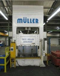 H Frame Hydraulic Press MUELLER WEINGARTEN ZE 315-16.11.5