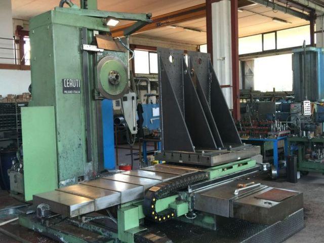 Vertical Boring Machine CERUTI ALESATRICE A CNC 2001
